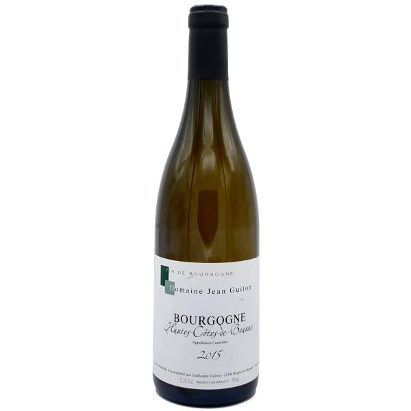 Hautes Côtes de beaune-Domaine Jean Guiton-blanc-Blanc-2015