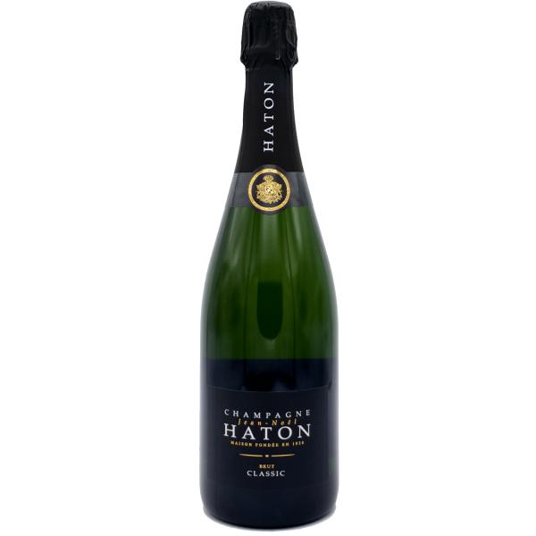 Champagne-Champagne HATON-Classic-blanc pétillant-Pétillant Blanc