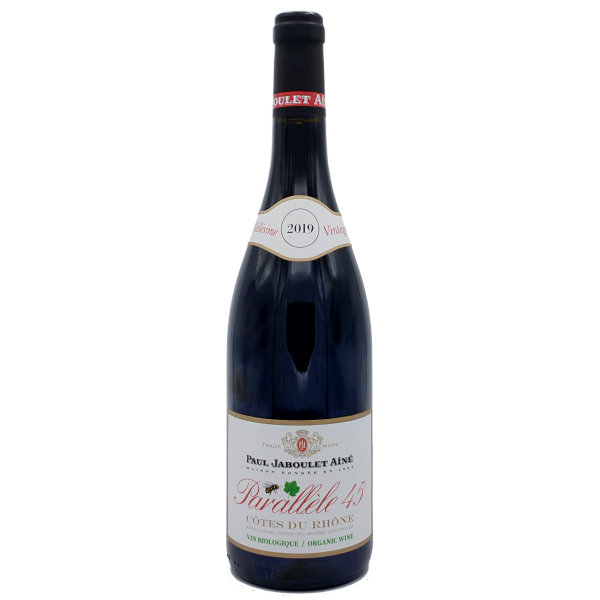 Côtes du Rhone-Paul Jaboulet Ainé-Parallele 45-rouge-Rouge-2019
