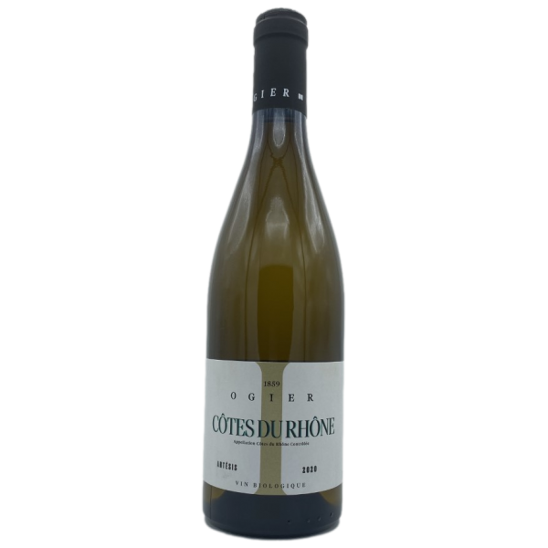 Côtes du Rhone-Ogier-Artesis-blanc-Blanc-2020