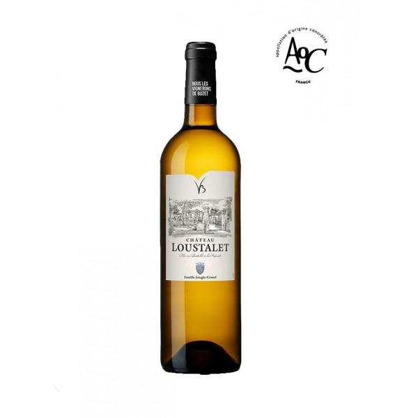 Buzet-Chateau Loustalet-blanc-Blanc-2020