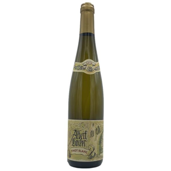 Vin d Alsace-Albert BOXLER-Pinot Blanc-blanc-Blanc-2016