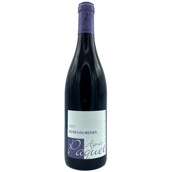 Auxey Duresse-Domaine Paquet-rouge-Rouge-2017
