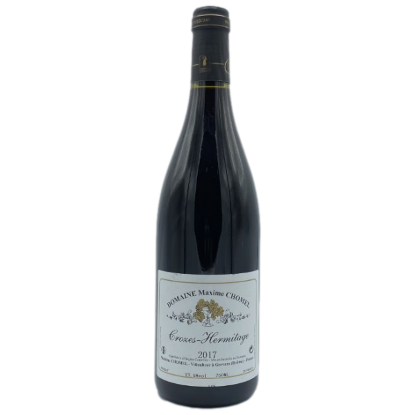 Crozes Hermitage-Domaine M. Chomel-rouge-Rouge-2017